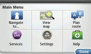 1107mt-02-+sony-tomtom-in-dash-av-navigation-system+main-menu