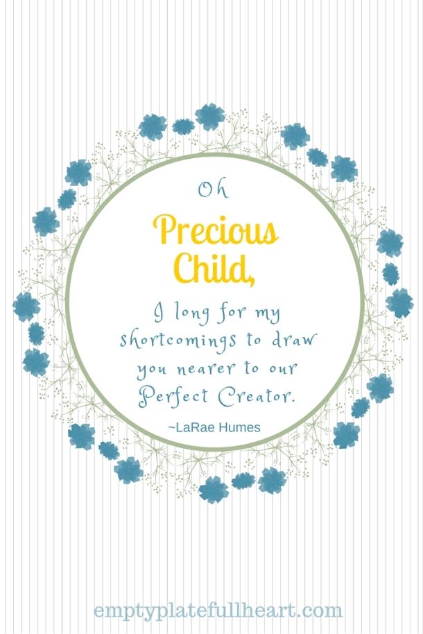 Oh Precious Child