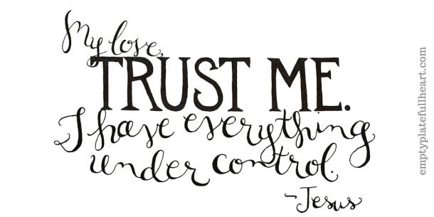 Trust Me -Jesus